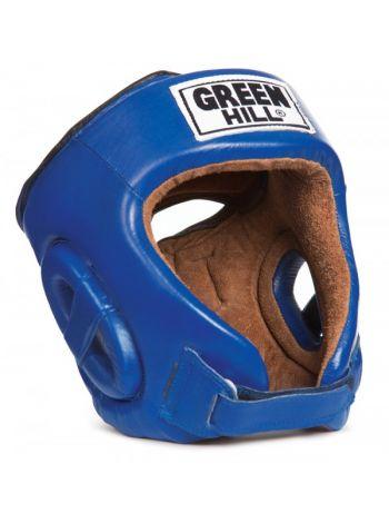 Боксерский шлем Green Hill HEAD GUARD FIVE STAR синий