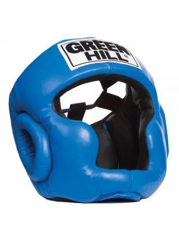 Боксерский шлем Green Hill HEAD GUARD SUPER синий