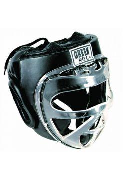 Боксерский шлем Green Hill HEAD GUARD SAFE черный