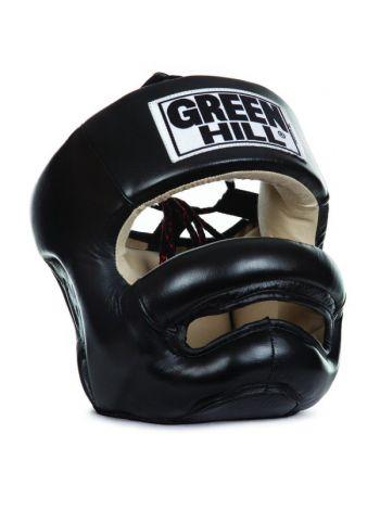 Боксерский шлем Green Hill HEAD GUARD PROFESSIONAL черный