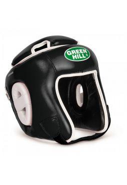Боксерский шлем Green Hill HEAD GUARD WINNING черный