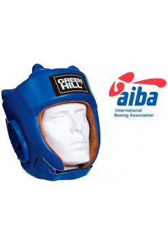 Боксерский шлем GREENHILL HEADGUARD FIVE STAR AIBA-BLUE