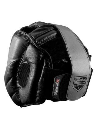 Боксерский шлем HAYABUSA черный Tokushu Regenesis на липучке