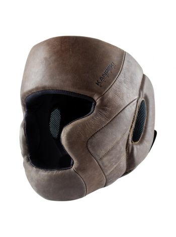 Шлем боксерский Hayabusa Kanpeki Elite 3 коричневый
