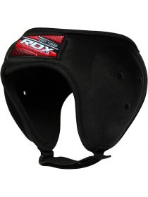 Шлем для бокса RDX Moulded Grappling Ear Guard черный