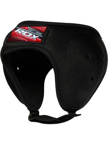 Шлем для бокса RDX Moulded Grappling Ear Guard черный