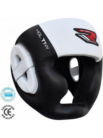 Шлем для бокса RDX Zero Impact Leather