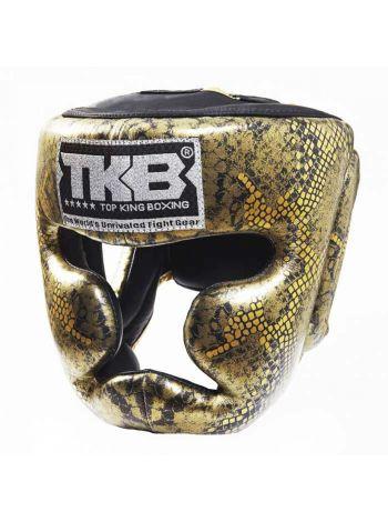Шлем для бокса Top King Super Star золотой