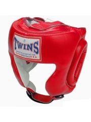 Боксерский шлем TWINS HGL-2 красный