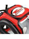 Шлем для бокса Twins 2-Tone Sparring HGL-3T красно-черный