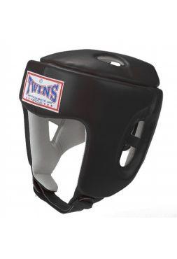 Боксерский шлем TWINS HGL-4 черный