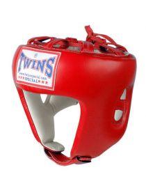 Боксерский шлем TWINS HGL-8 красный