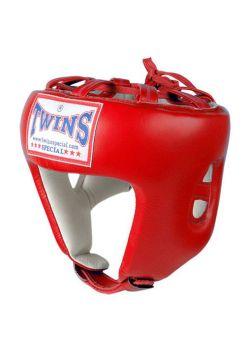 Шлем для бокса TWINS HGL-8 красный