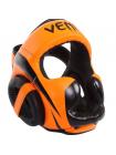 Шлем боксерский VENUM ELITE оранжевый