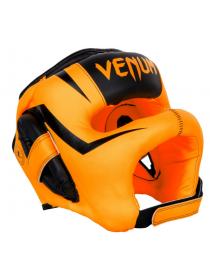 Боксерский шлем VENUM ELITE IRON оранжевый