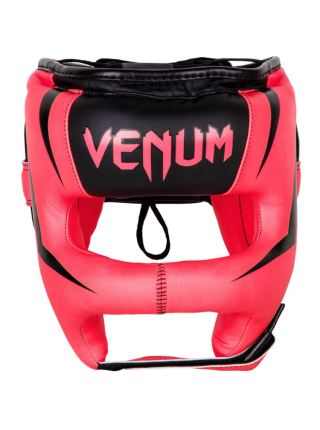 Шлем для бокса VENUM ELITE IRON розовый