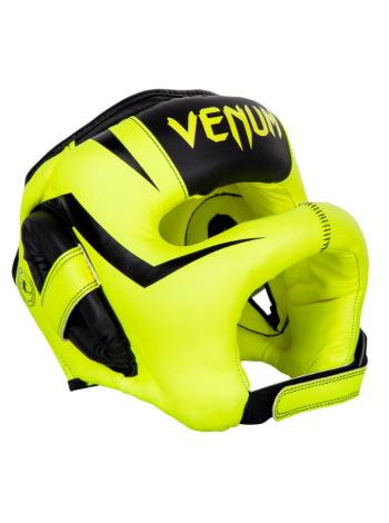 Боксерский шлем VENUM ELITE IRON желтый
