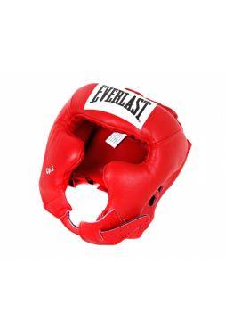 Шлем боксерский Everlast Pro Traditional красный
