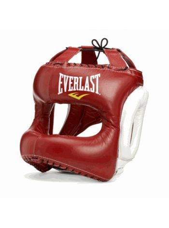 Шлем Everlast MX Headgear красный