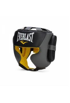 Шлем для бокса Everlast Sparring серый