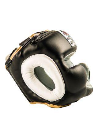 Боксерский шлем Yokkao черный