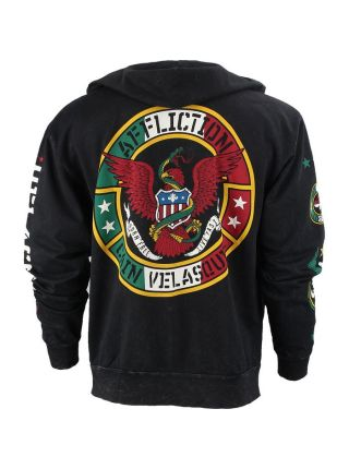 Толстовка Affliction Cain Velasquez 180 черная