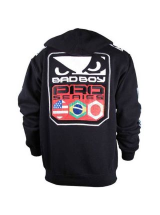 Толстовка черная Bad Boy Pro Series Walkout Hoodie