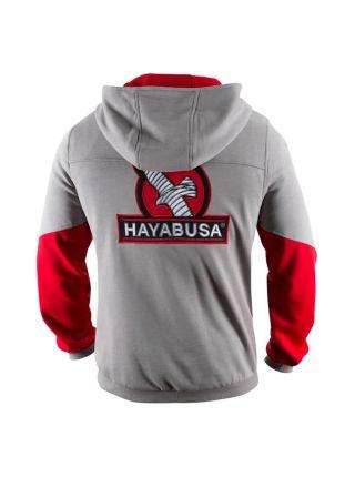 Толстовка Hayabusa Wingback серо-красная