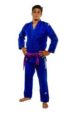 Кимоно для джиу-джитсу Adidas CHAMPION IBJJF синее