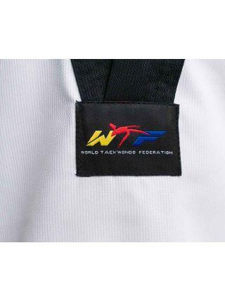 Добок для тхэквондо Adidas WTF ADI-START белый с черным воротником