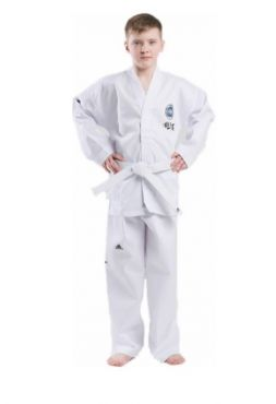 Добок для тхэквондо с поясом Adidas ITF STUDENT DOBOK белый