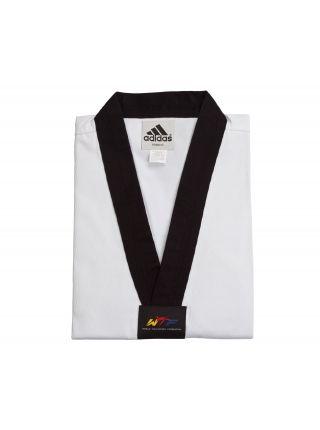 Добок для тхэквондо Adidas WTF ADI-CHAMP 3 белый с черным воротником