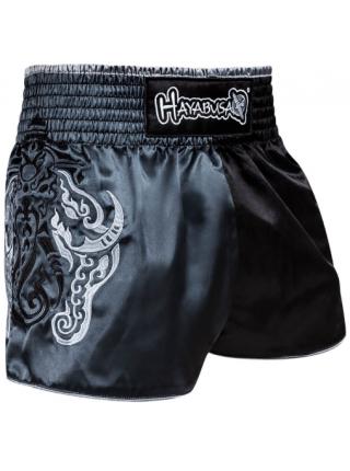Шорты для тайского бокса Hayabusa Wisdom Muay Thai серые