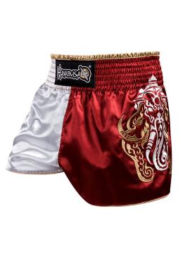 Шорты для тайского бокса Hayabusa Wisdom Muay Thai красные