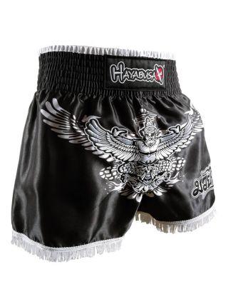 Шорты для тайского бокса Hayabusa Garuda черные