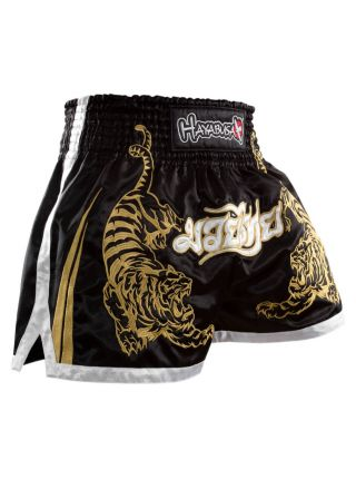 Шорты для тайского бокса Hayabusa Premium черные