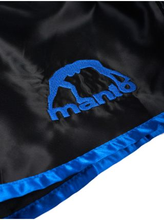 Шорты для тайского бокса MANTO VIBE черно-синие