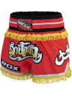 Шорты для тайского бокса RDX Fire красные