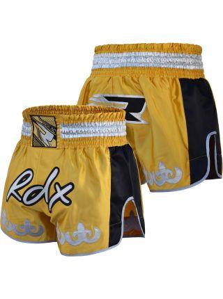 Шорты для тайского бокса RDX Dandelion желтые