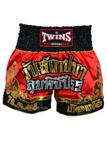 Шорты для тайского бокса TWINS TWS-891 красно-золотые