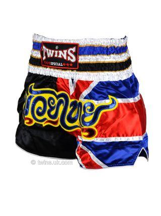 Шорты для тайского бокса TWINS UK Flag TWS-850