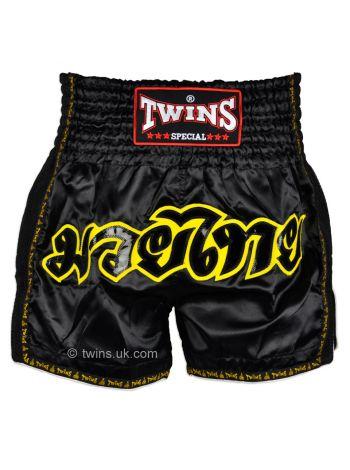 Шорты для тайского бокса Twins TWS-913 черные