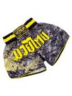 Шорты для тайского бокса VENUM TRAMO черно-желтые