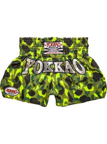 Шорты для тайского бокса Yokkao Army Green