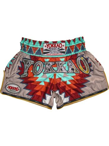 Шорты для тайского бокса Yokkao CarbonFit Aztec