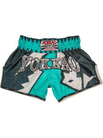 Шорты для тайского бокса Yokkao CarbonFit Frost