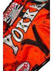 Шорты для тайского бокса Yokkao CarbonFit Urban оранжевые