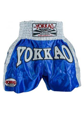 Шорты для тайского бокса Yokkao Dynamite синие