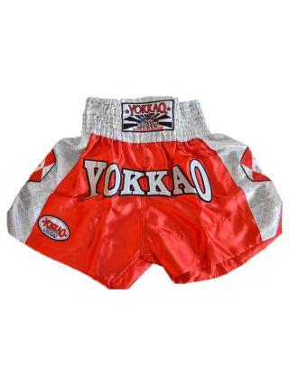 Шорты для тайского бокса Yokkao Dynamite красные