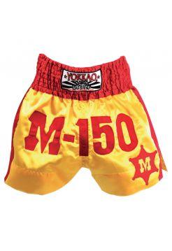 Шорты для тайского бокса Yokkao M-150 Muay Thai желтые